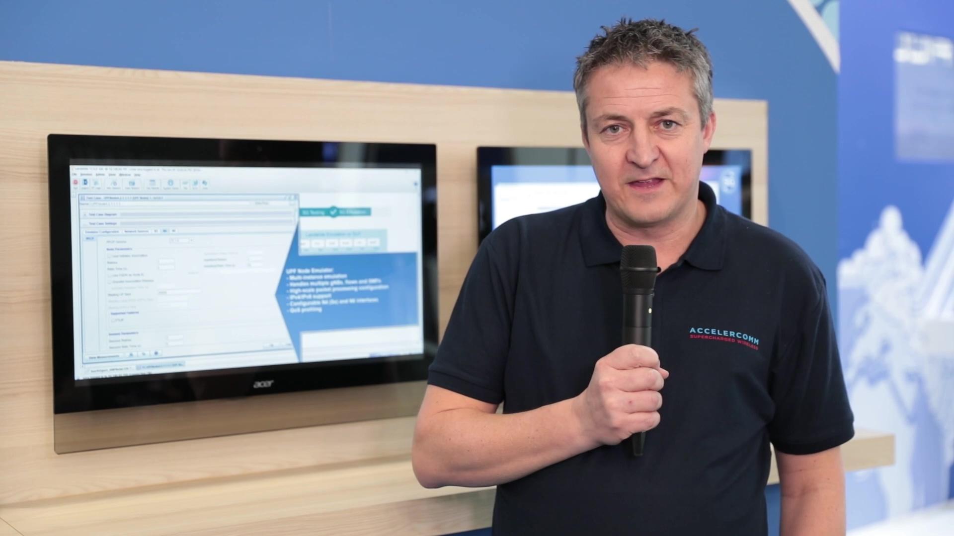 In market 5G NR test equipment using Accelercomm Polar IP