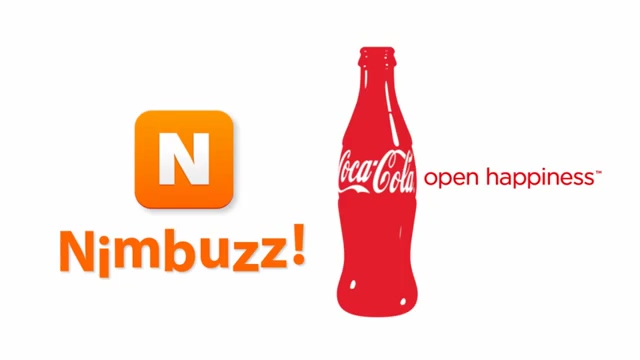 Nimbuzz Coke Typo animation