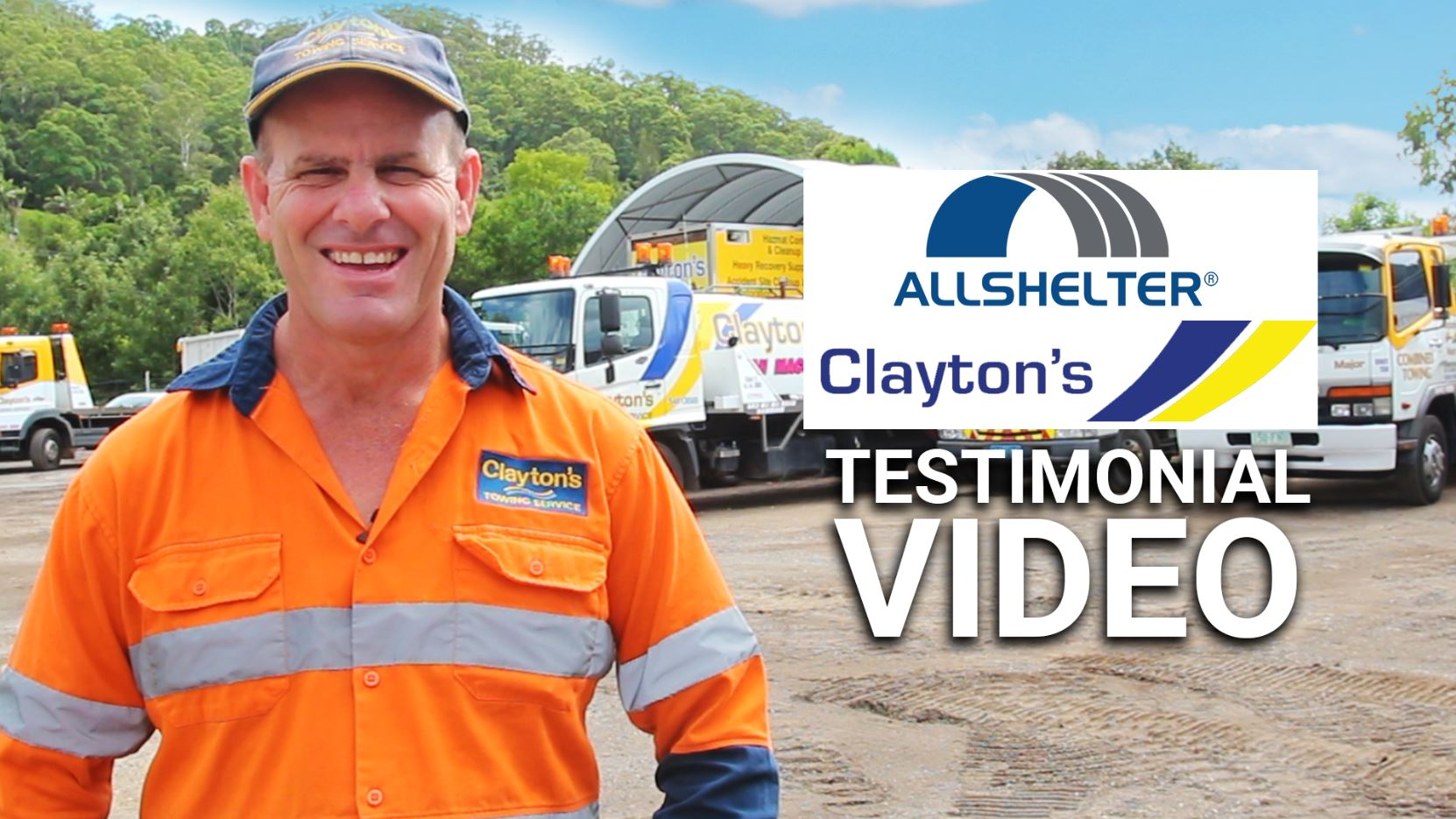 Claytons Towing Testimonial