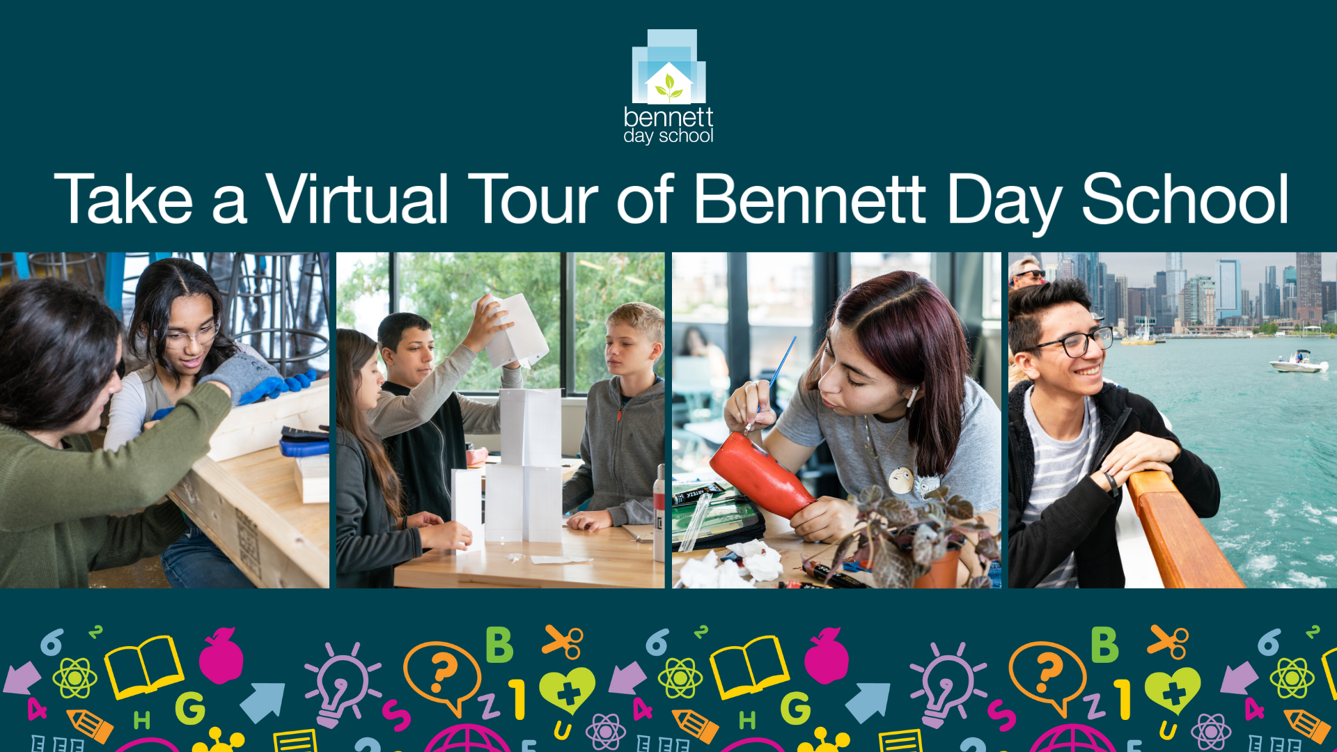 Bennett Day School Virtual Tour Trailer (Grades 6-12)