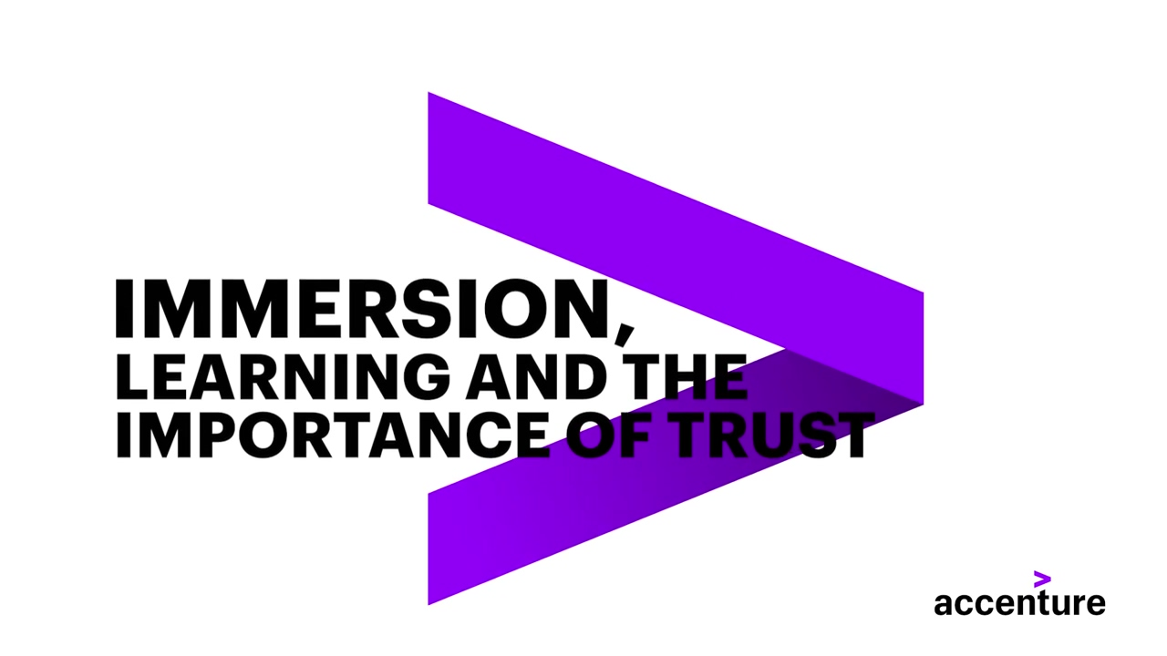 Immersion, Learning and the Importance of Trust-720