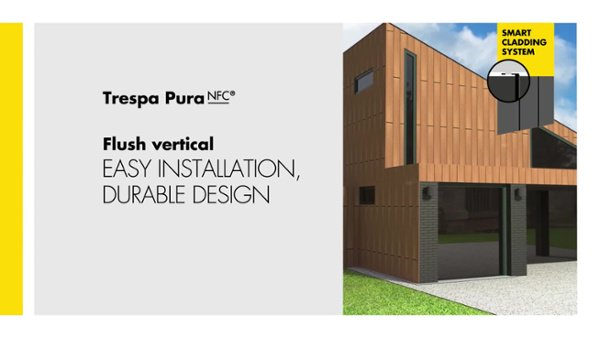 Trespa Pura Flush Vertical Installation video