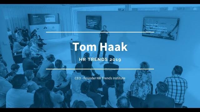 Nmbrs Talks #1 - Tom Haak - HR Trends 2019