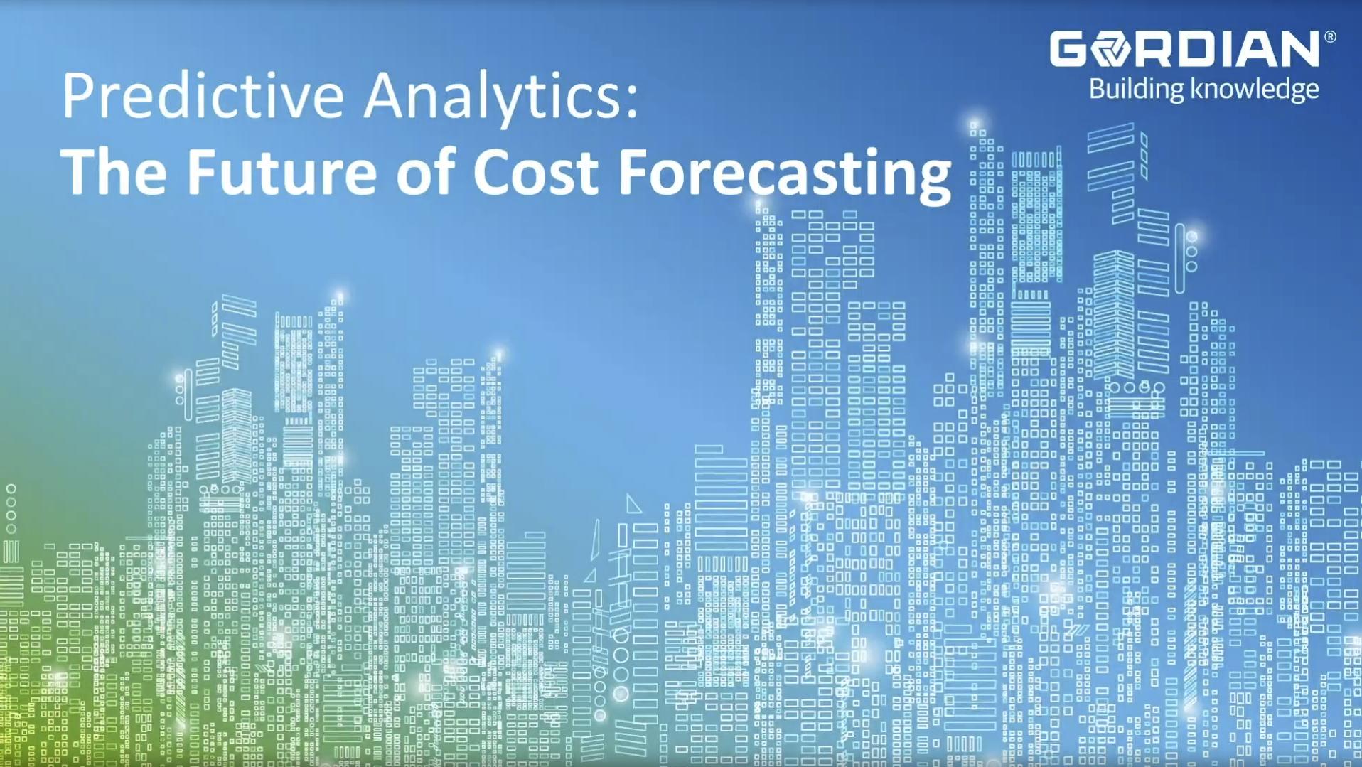 Predictive Analytics: The Future of Cost Forecasting