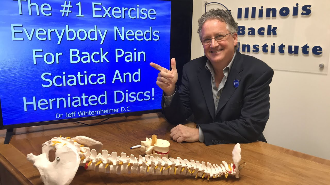 The #1 Exercise Everybody Needs For Back Pain Sciatica And Herniated Disc Treatment
