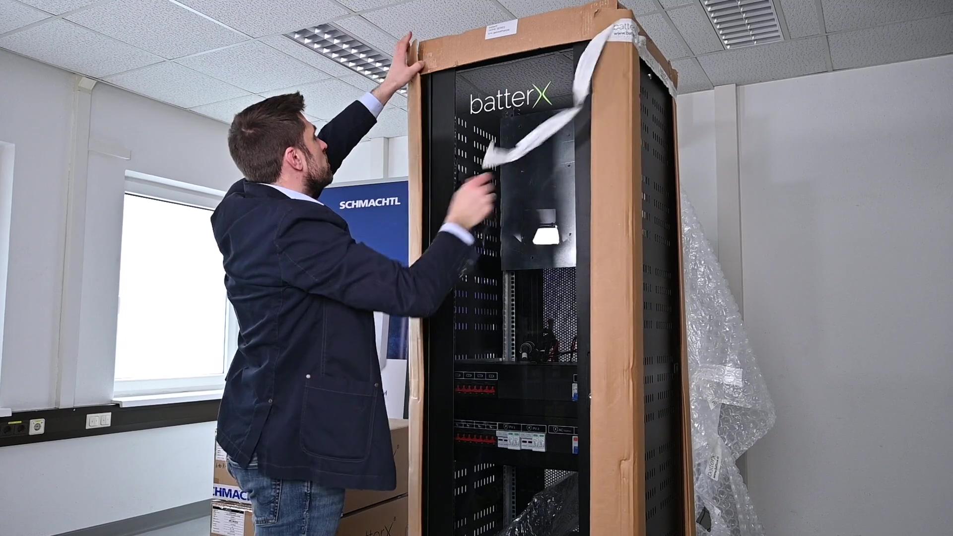 BatterX Inbetriebnahme