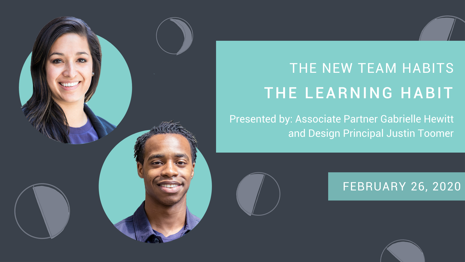 Webinar - The New Team Habits The Learning Habit - February 26 2020