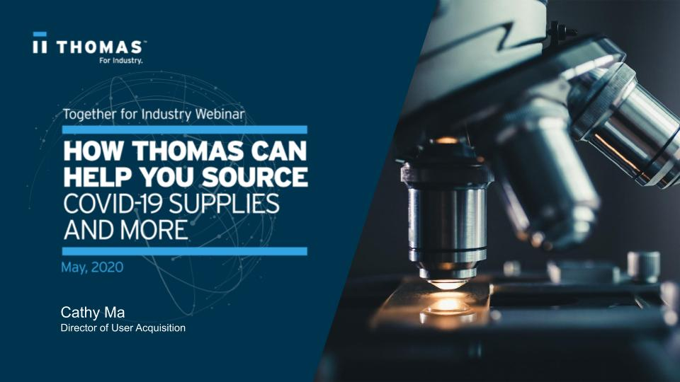 How Thomas Can Help You Source Webinar
