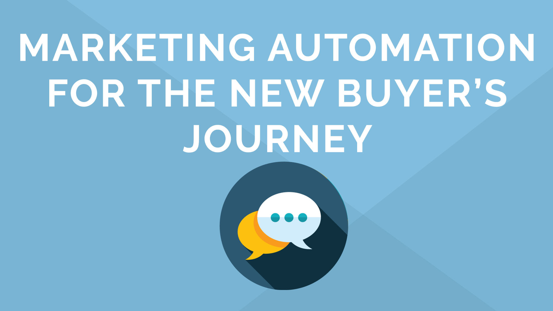 Marketing Automation for the New Buyer's Journey in 15 minutes