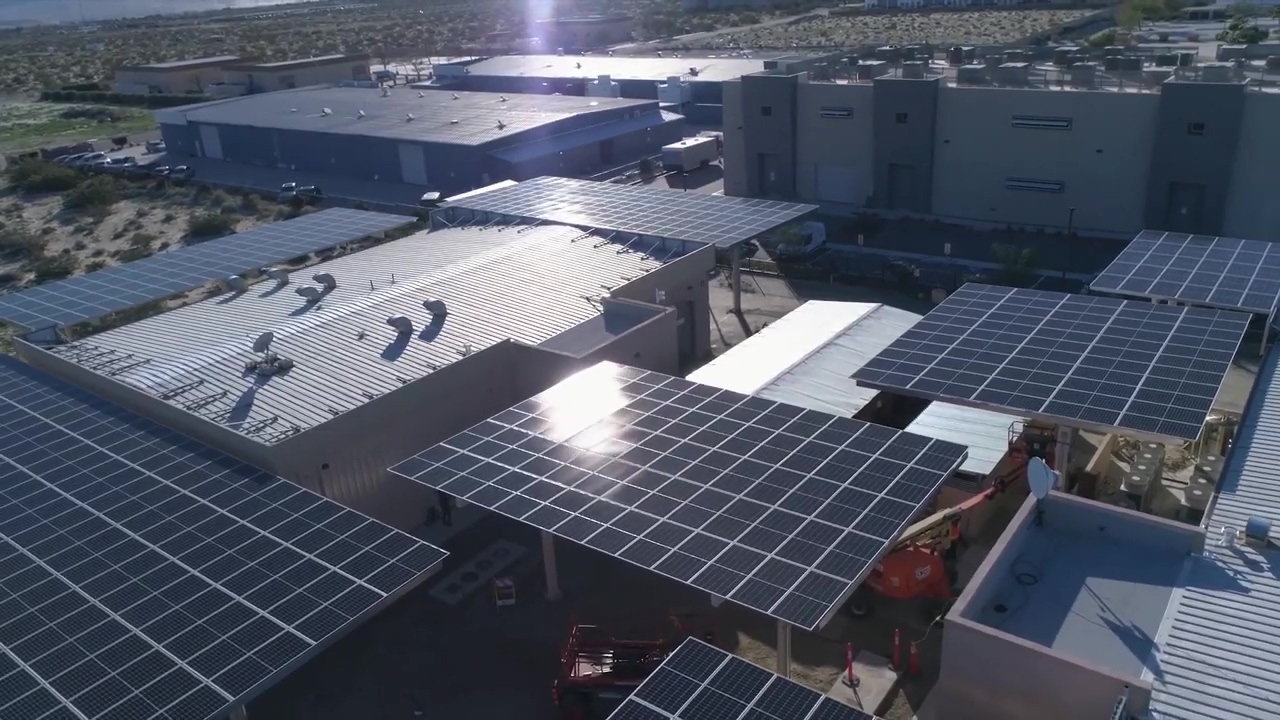 Experience the World's First Commercial Scale Solar Project in Cannabis