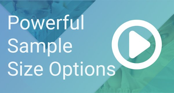 Powerful Sample Size Options with nQuery