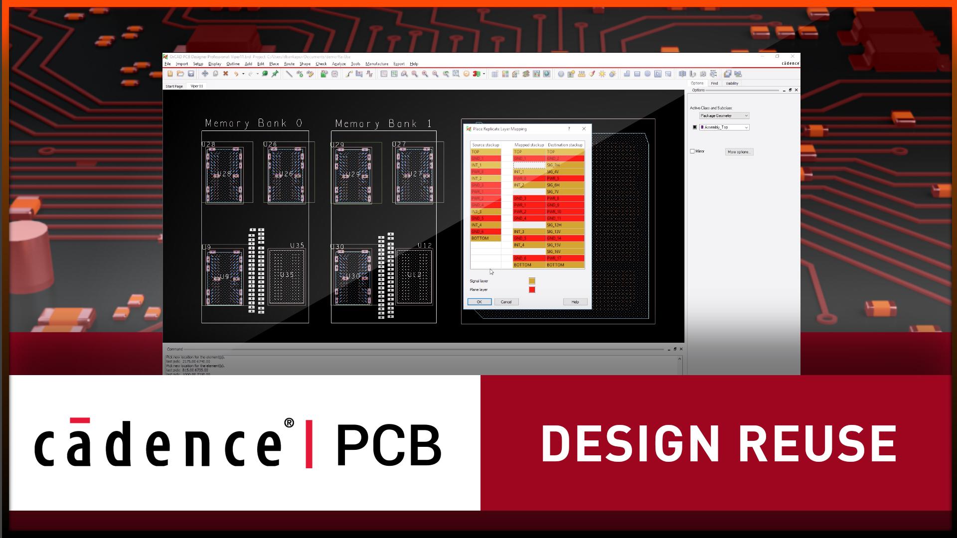 Design Reuse - OrCAD