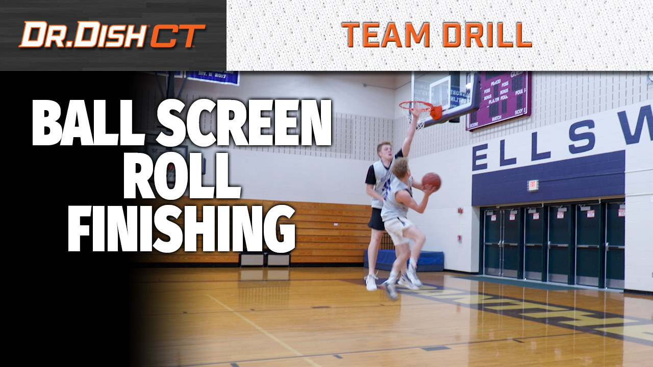 YT Ball Screen Roll Finishing Drill