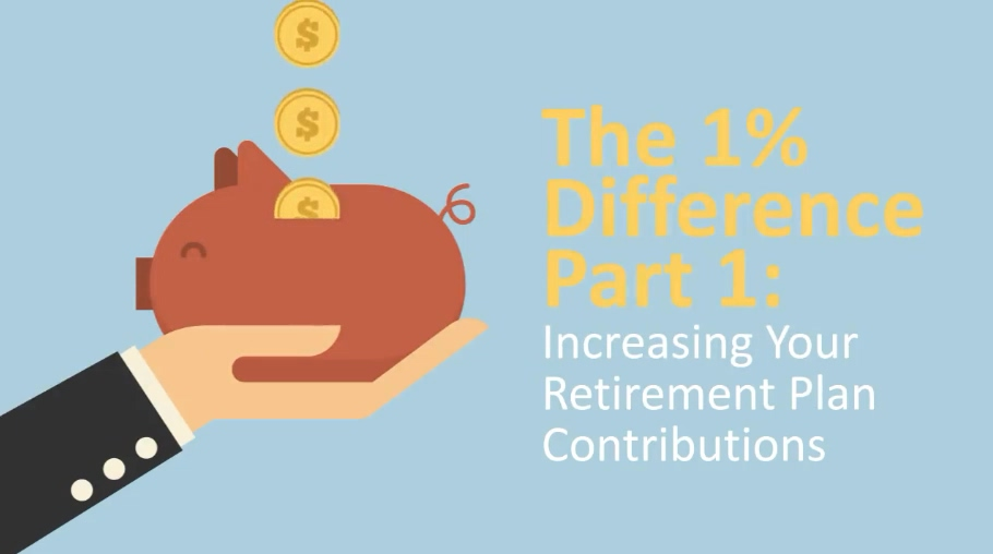 The 1 Percent Difference Part 1 Increasing Your Retirement Plan Contributions