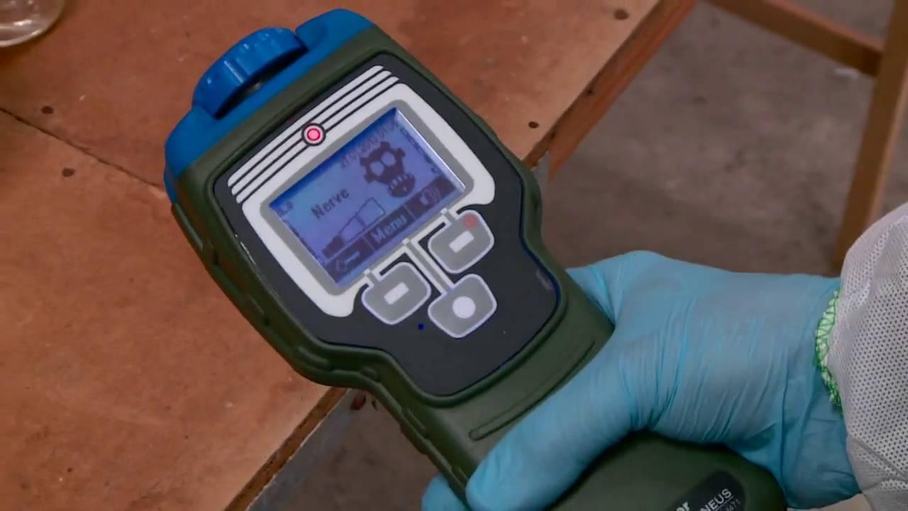 ChemPro 100 - ChemPro 100i SIM Chemical Warfare Training Simulator