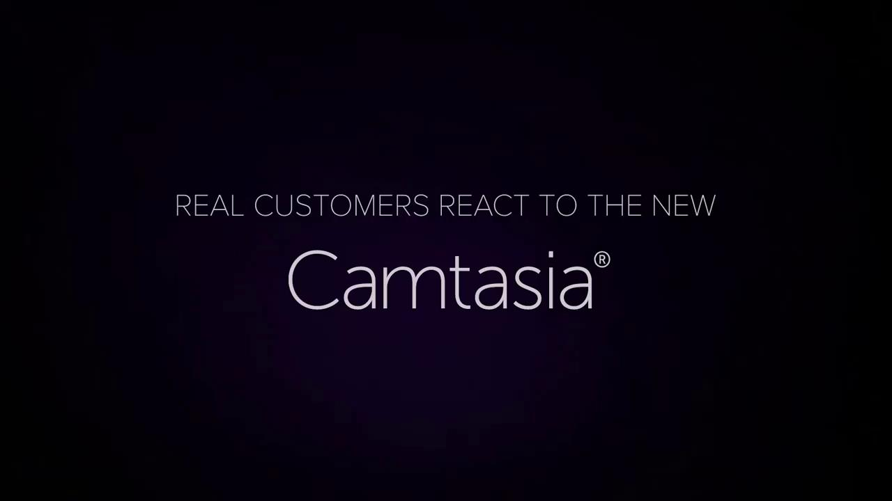 Camtasia 9 Real Customers React short