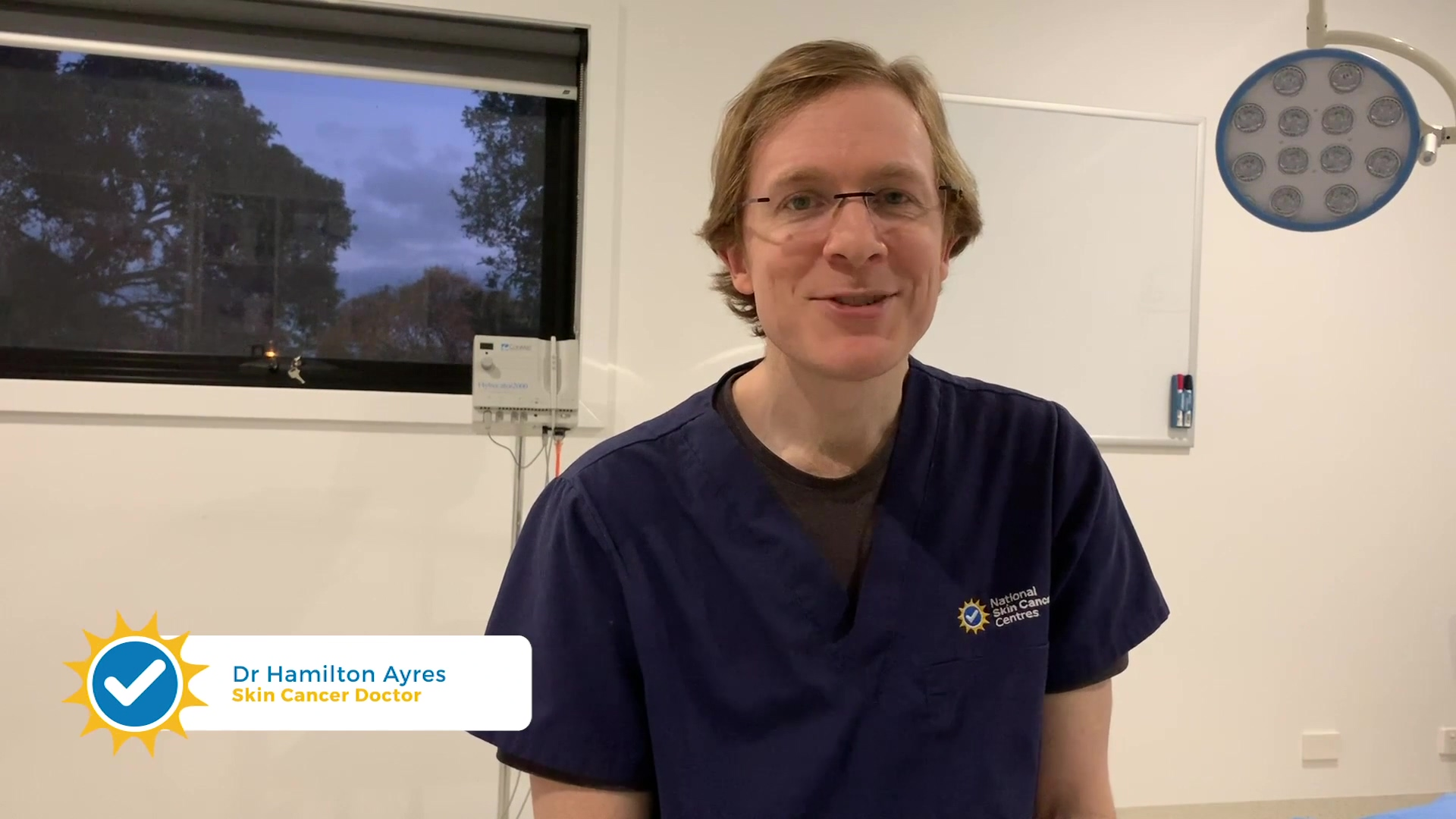 NSCC Dr Ayres on whats involved with a skin check