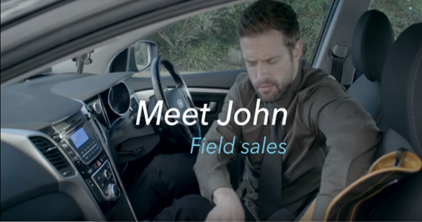 A day in the life of a Field Sales Rep Before and After Skynamo