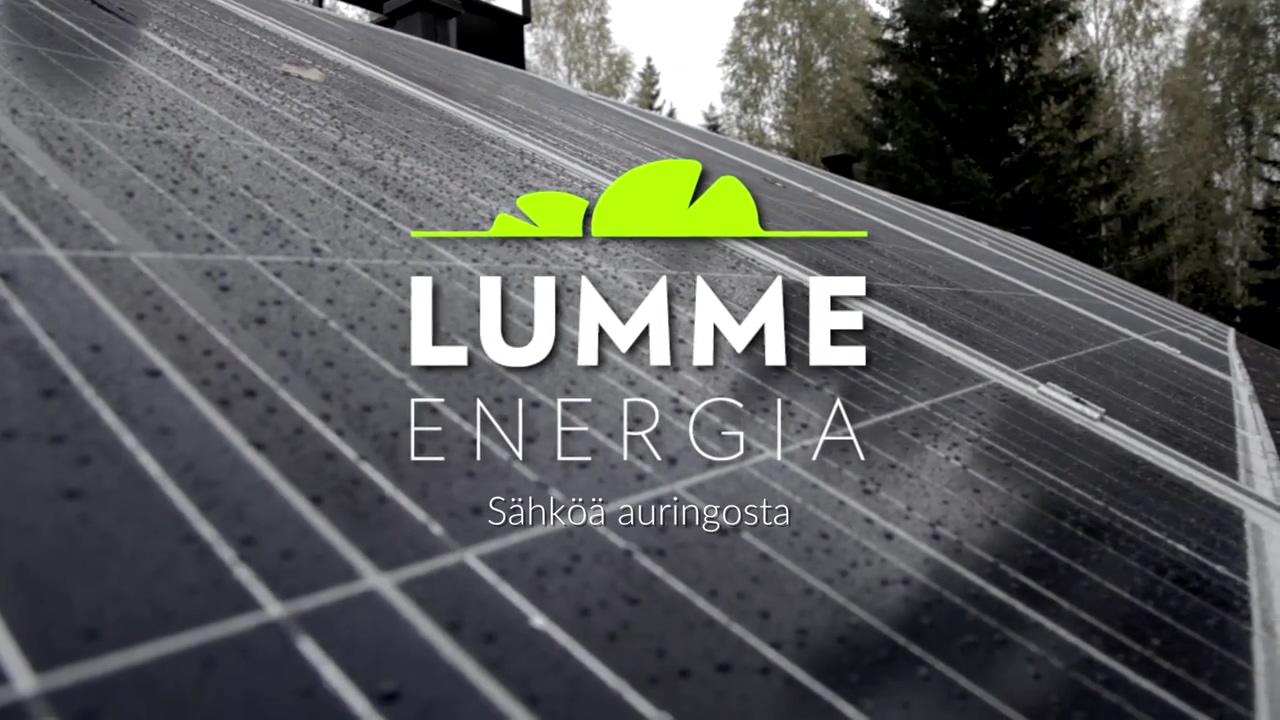 Sahkoenergiaa-auringosta