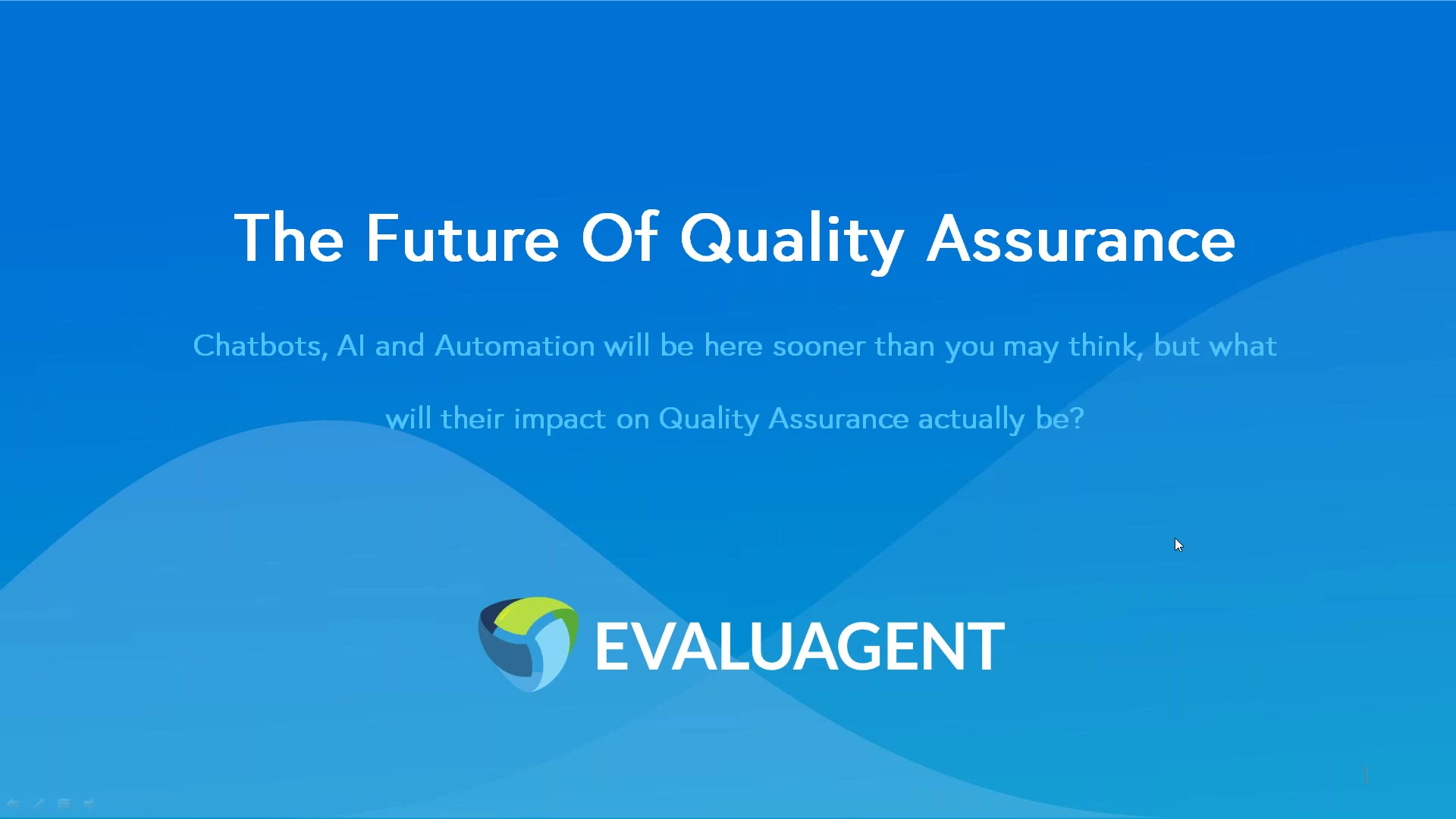 The Future Of Quality Assurance with Keir Woolhouse