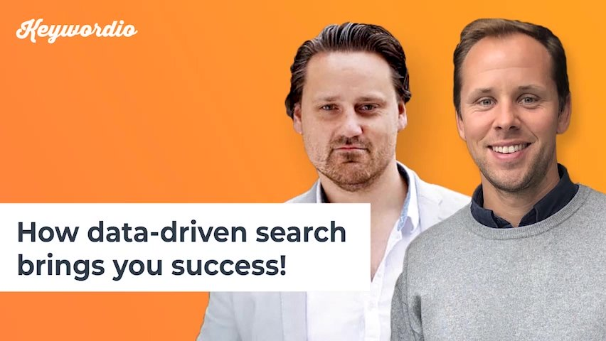9. How data-driven search brings you success