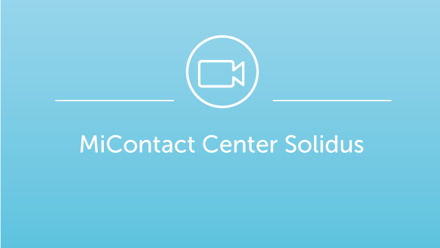 MiContact Center Solidus