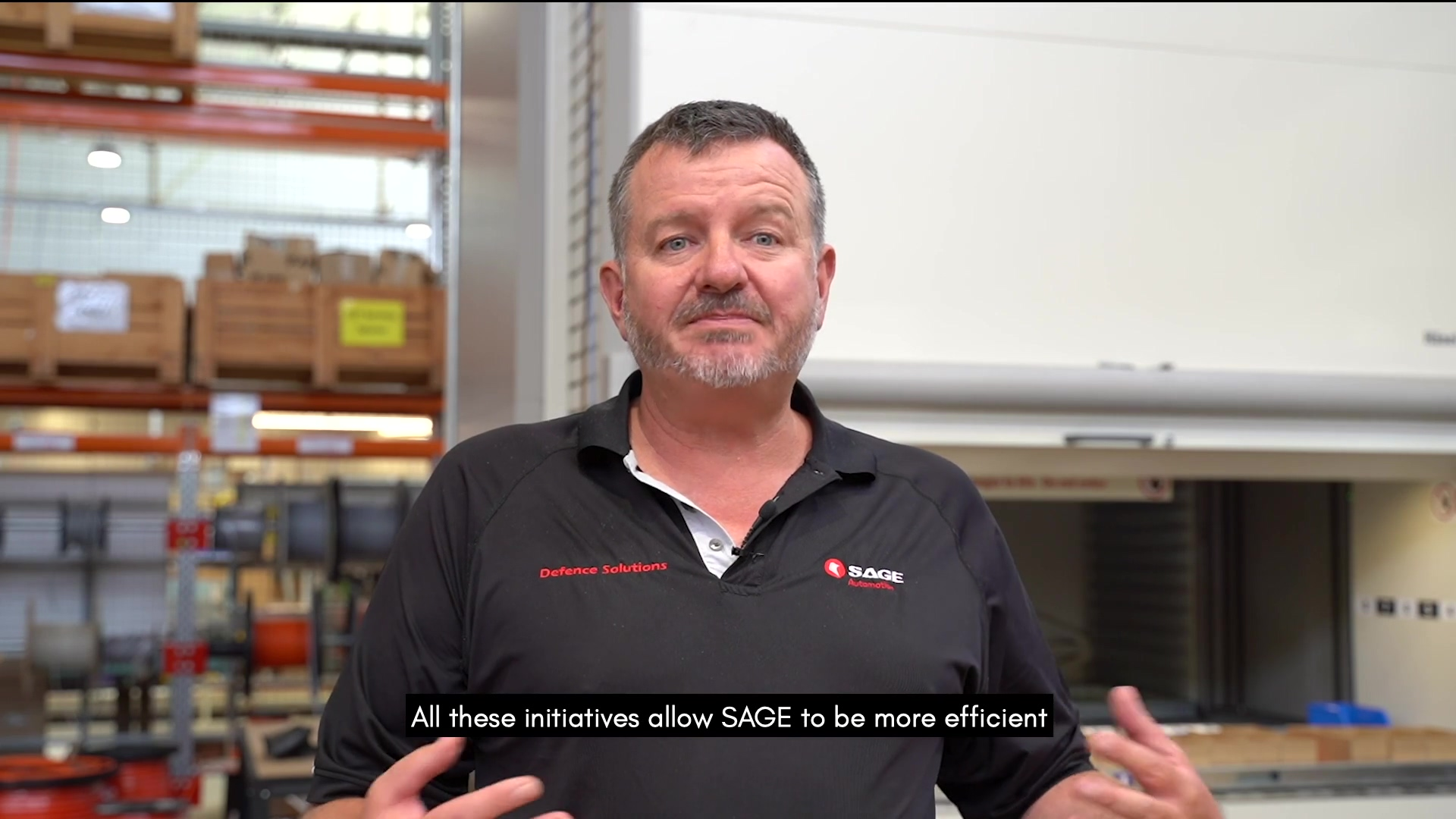 SAGE industry 4.0 manufacturing with Paul Johnson