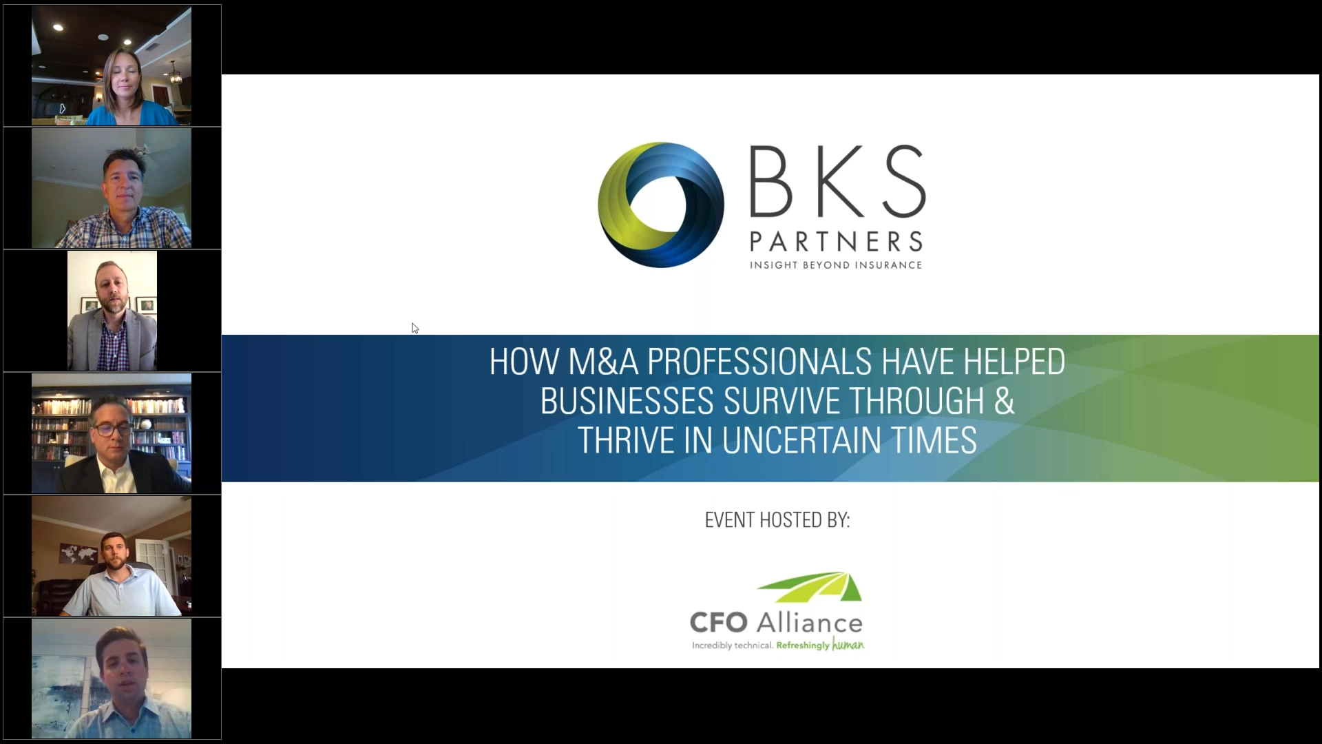 How M&A Professionals Have Helped  Businesses Survive Through  & Thrive In Uncertain Times