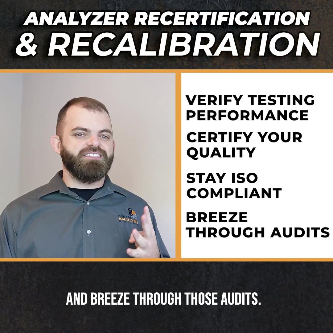 MAG Analyzer Recertification - Square