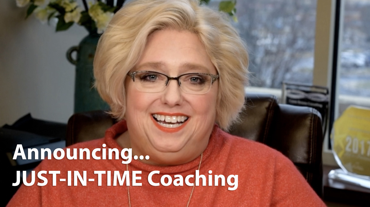 Tammy Kabell Just in Time Coaching