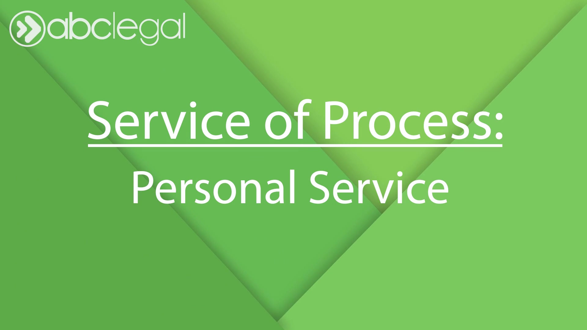 Personal Service Export