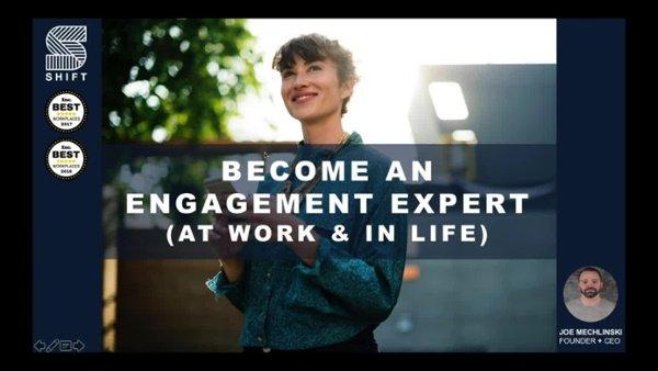 Employee Engagement Expert Training Recording