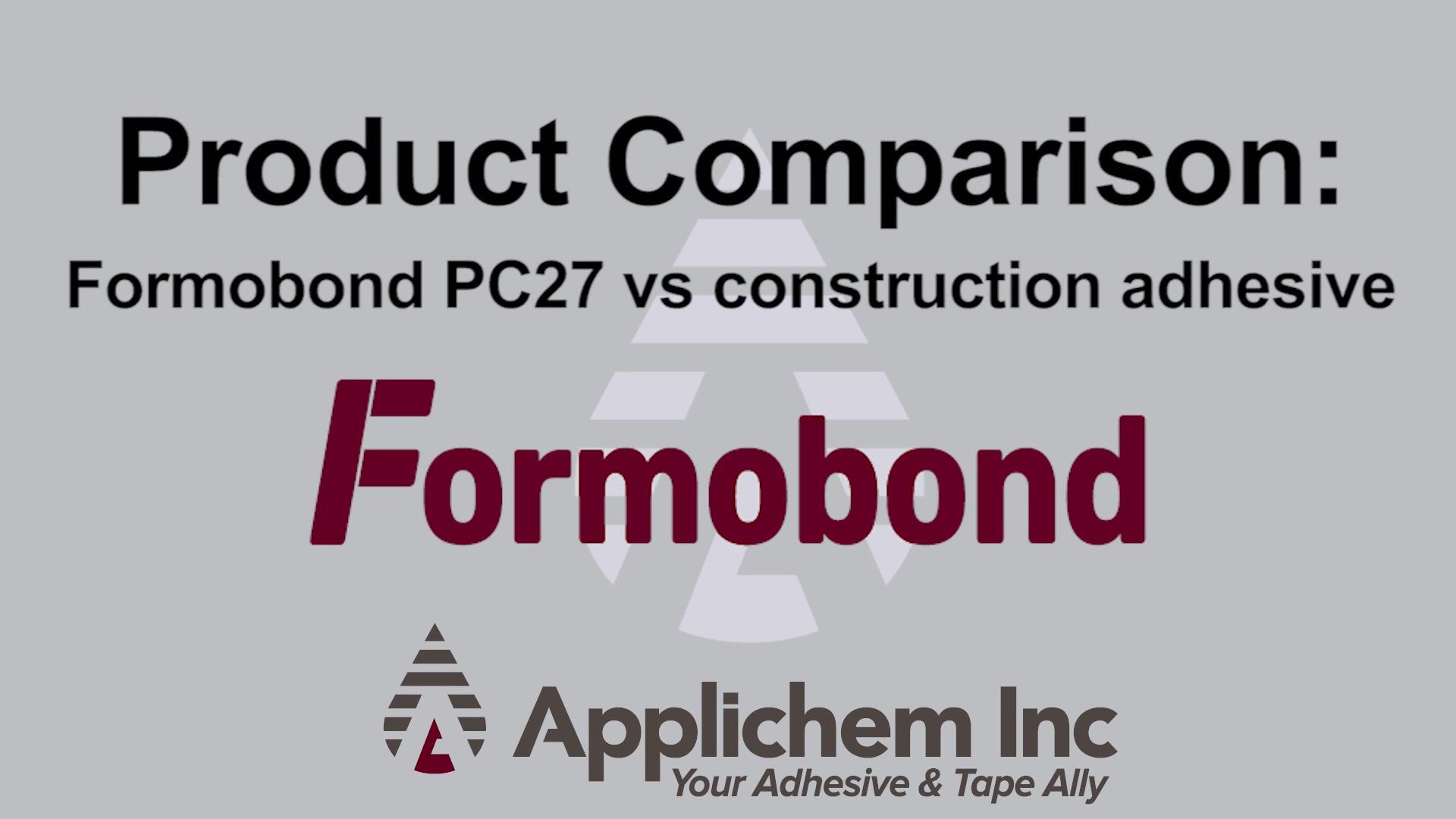 PC27 - Product Comparison - v4 - March 2020