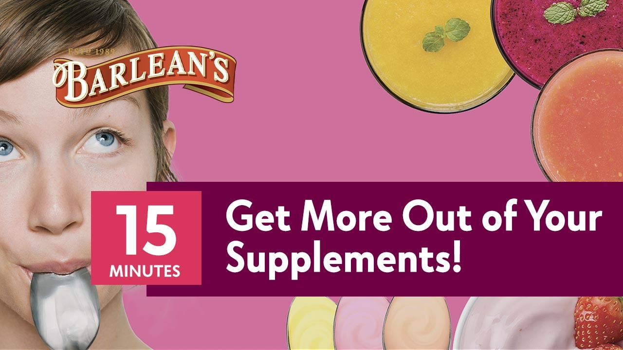 The Secret to Getting More Out of Your Supplements