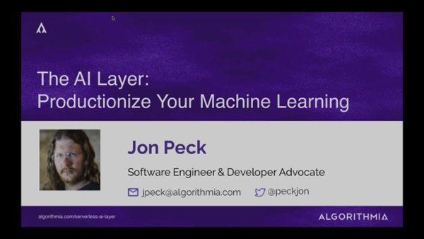 How To Productionize Your Machine Learning With The AI Layer (1)