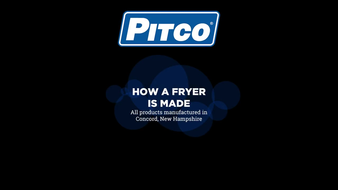 Pitco Fryer Factory Video Teaser Version