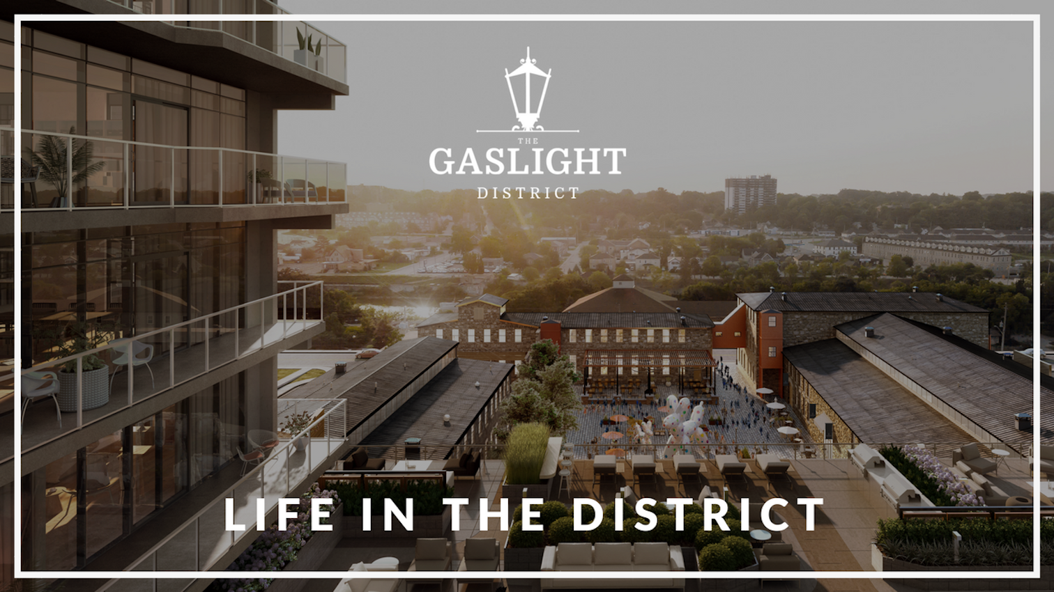 "Life in ""The District"" - The Gaslight District, Cambridge"