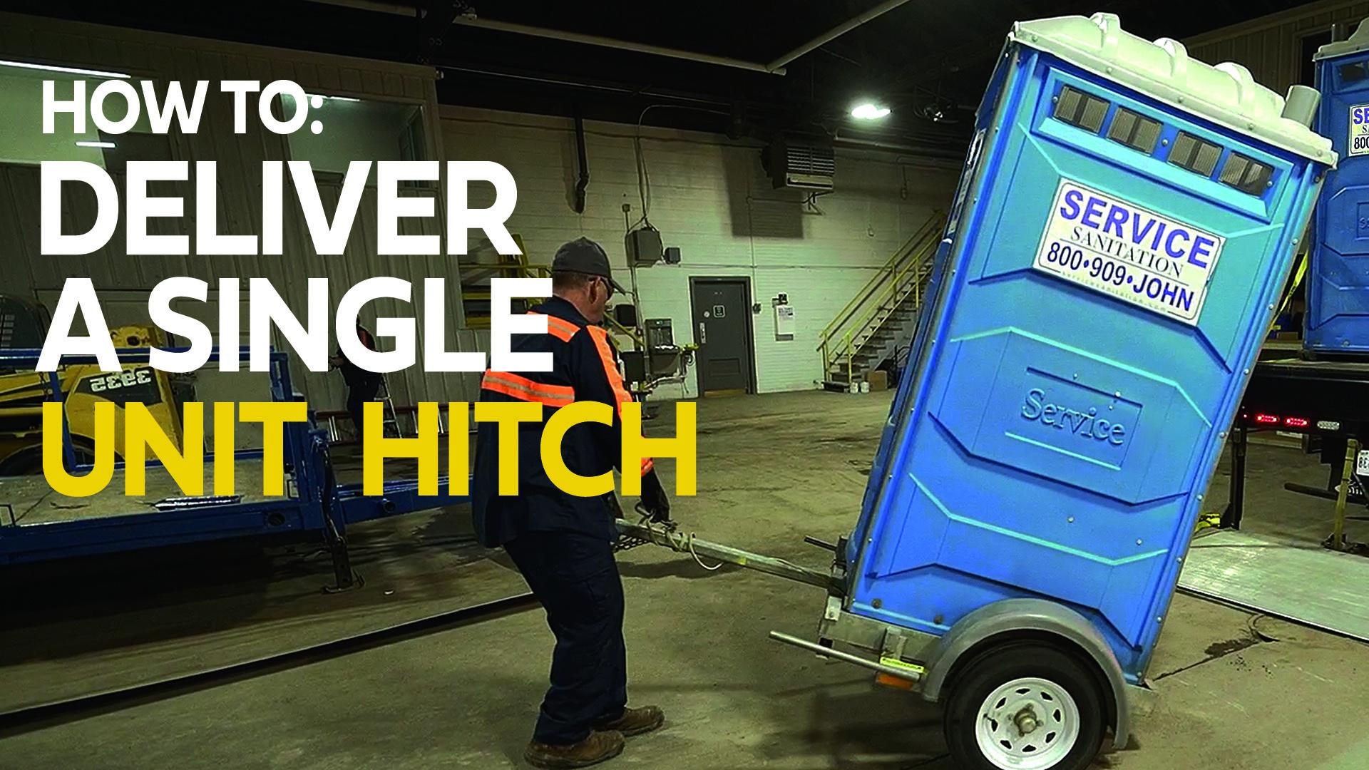 3. How to Setup & Deliver a Single Unit Hitch