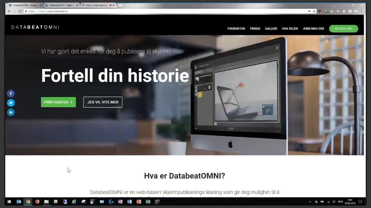Webinar om DatabeatOMNI UX7 med Marius Borgersrud