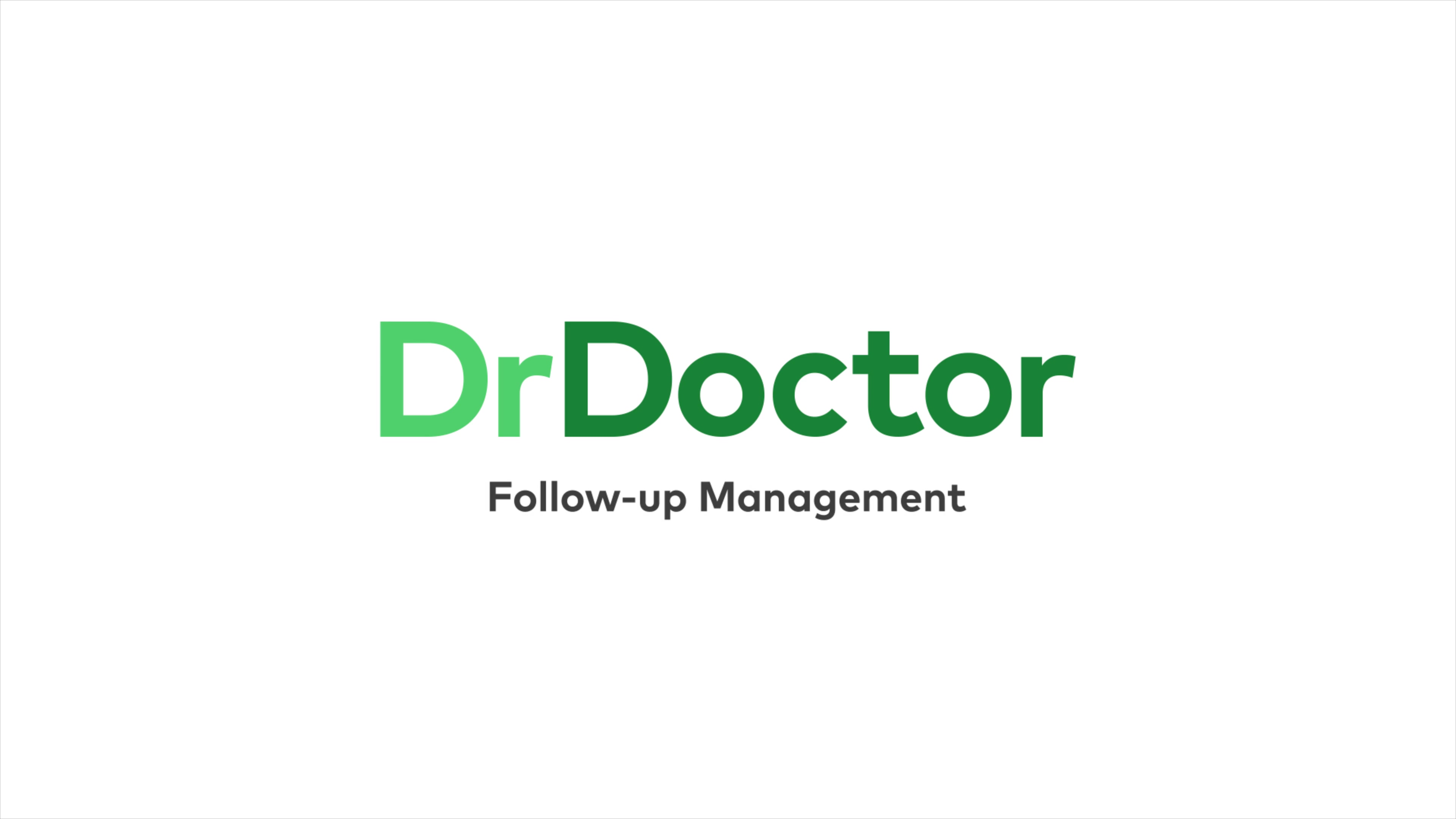Follow-up Management by DrDoctor