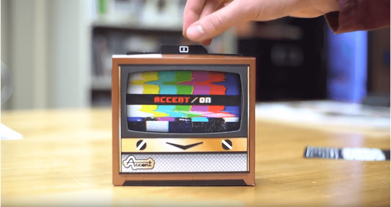 Augmented Reality Accent TV