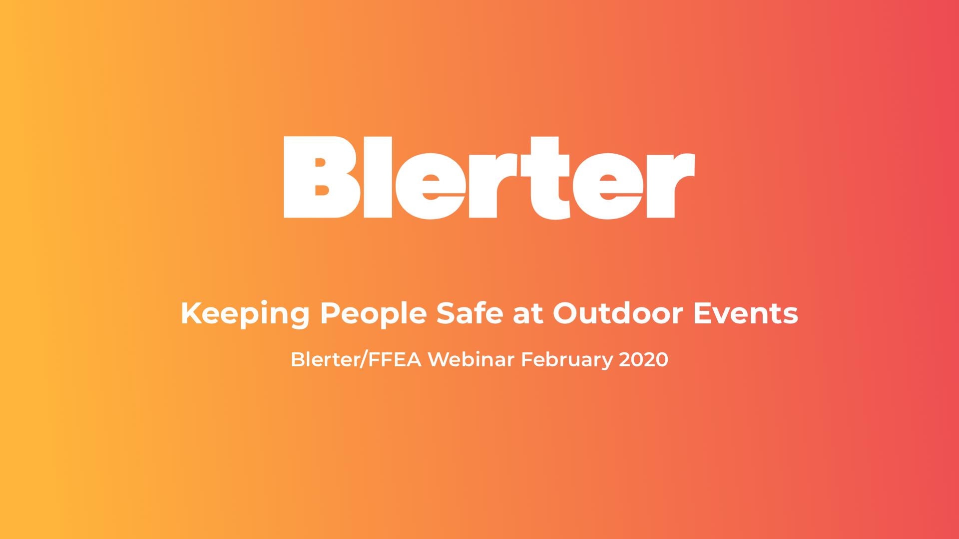 Blerter FFEA - Webinar Recording Final
