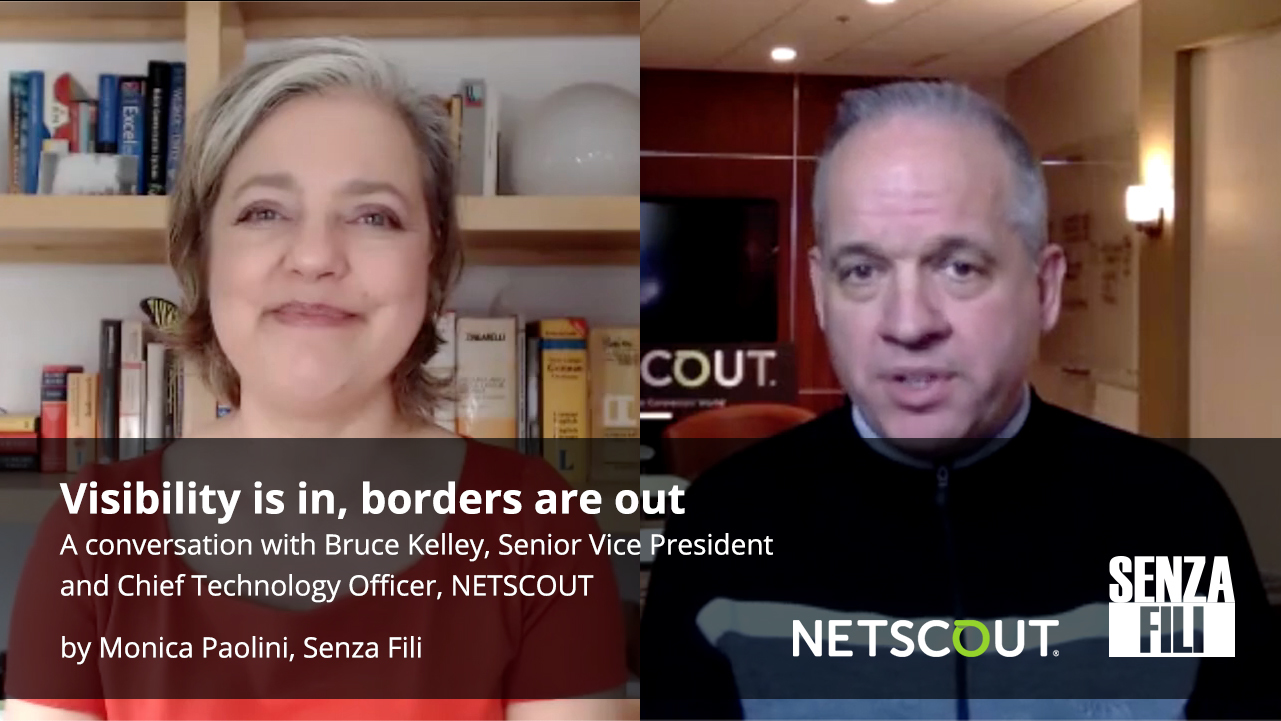 Senza Fili Interview with Monica Paolini and NETSCOUT's Bruce Kelley