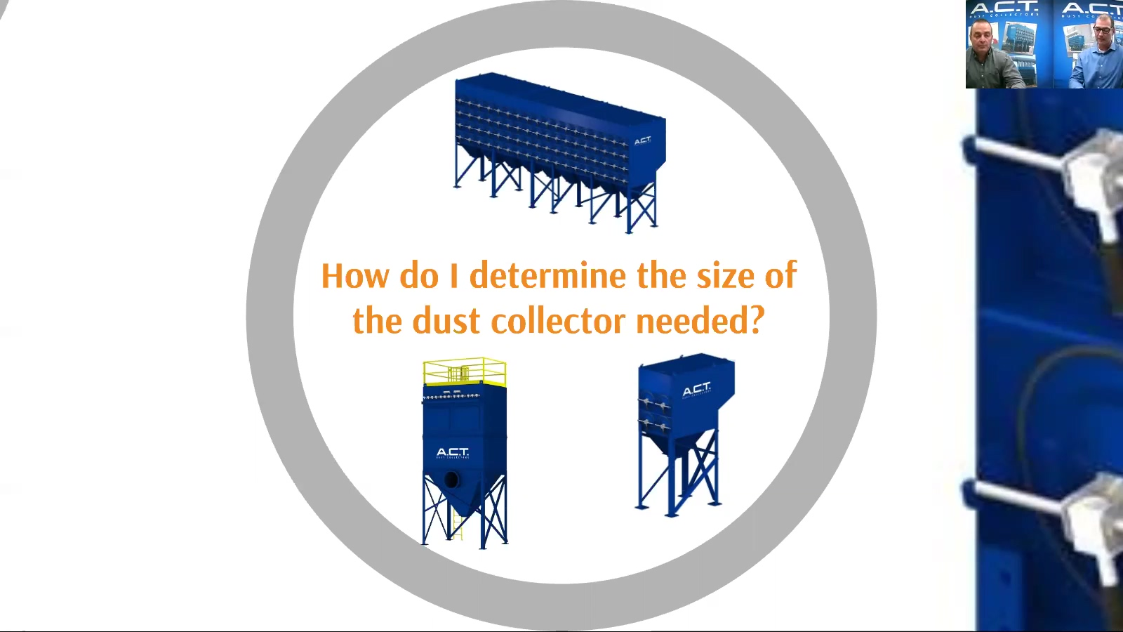 Things to Consider When Choosing a Dust Collector Webinar
