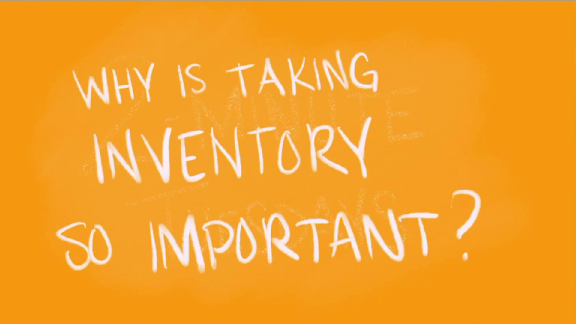 TMT - Why Inventory?