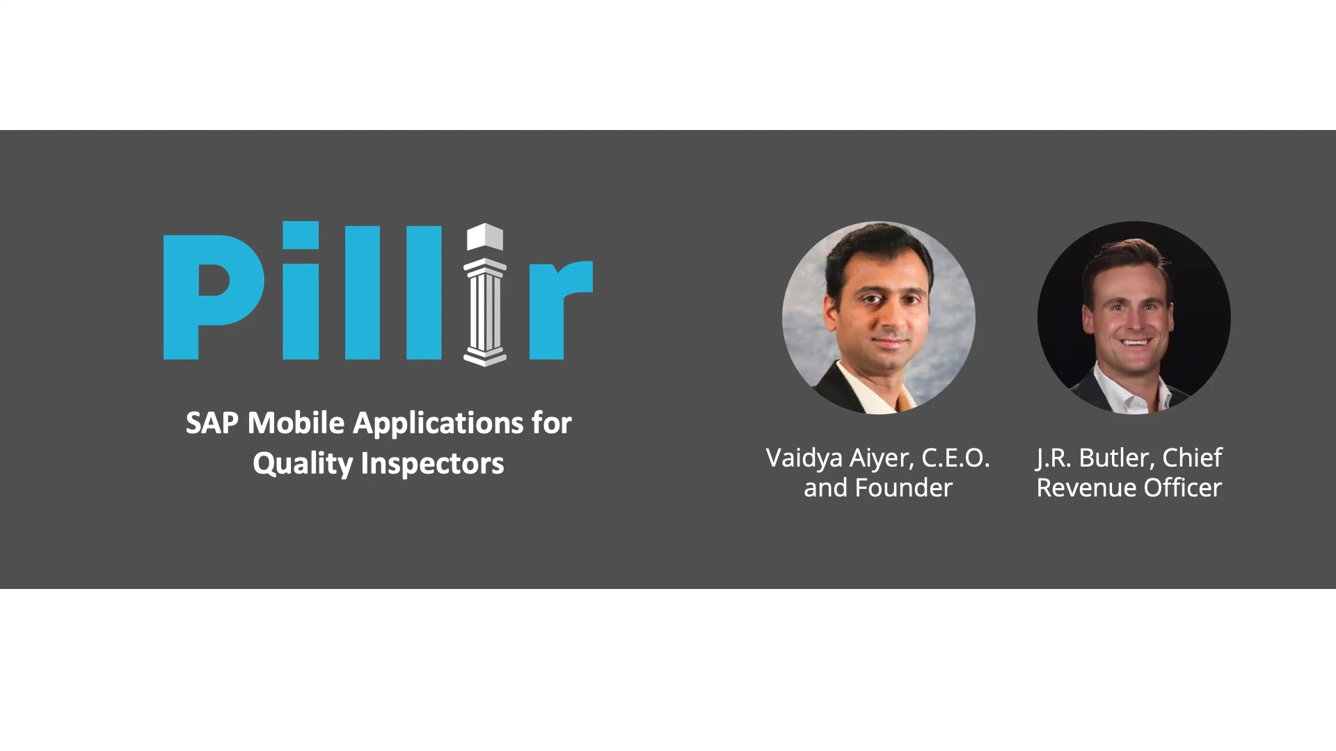 SAP mobile applications for quality inspectors - pre-recorded