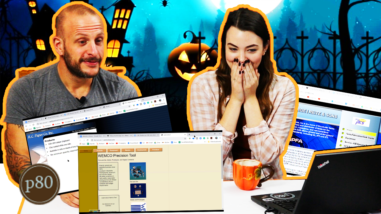 Marketers React to _Scary_ Website Design