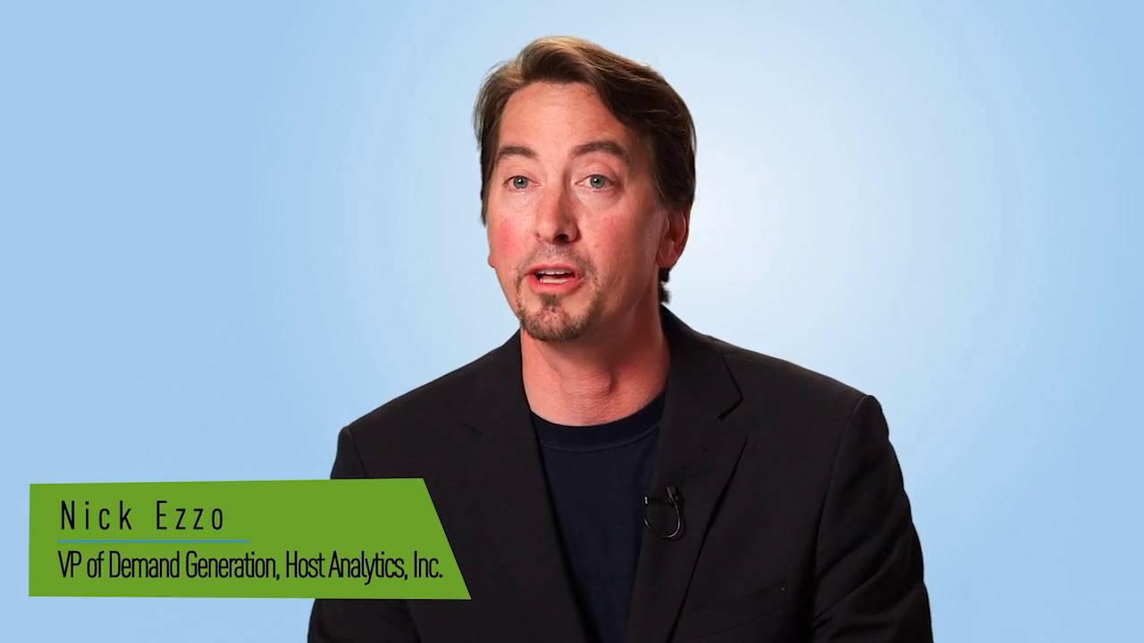 Customer Testimonial - Host Analytics