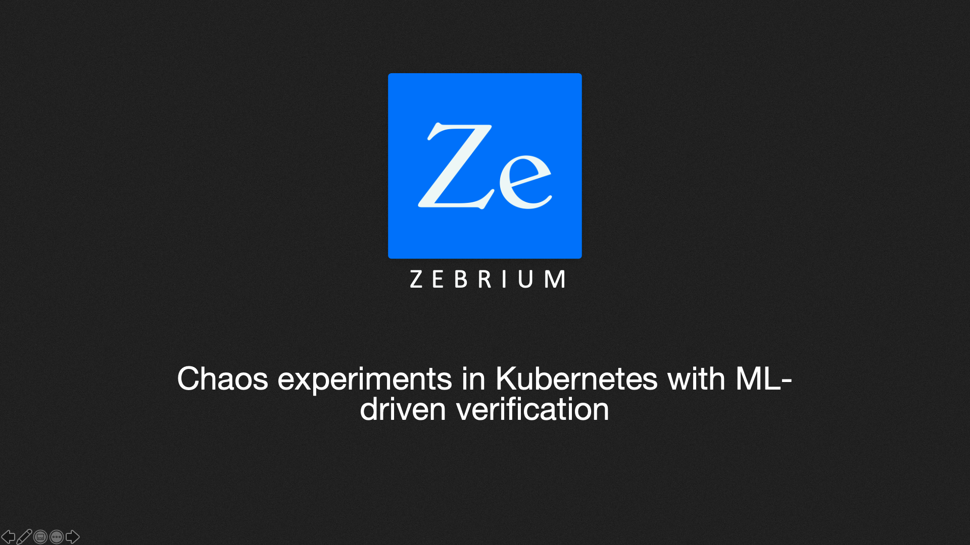 Chaos experiments in Kubernetes with ML-driven verification