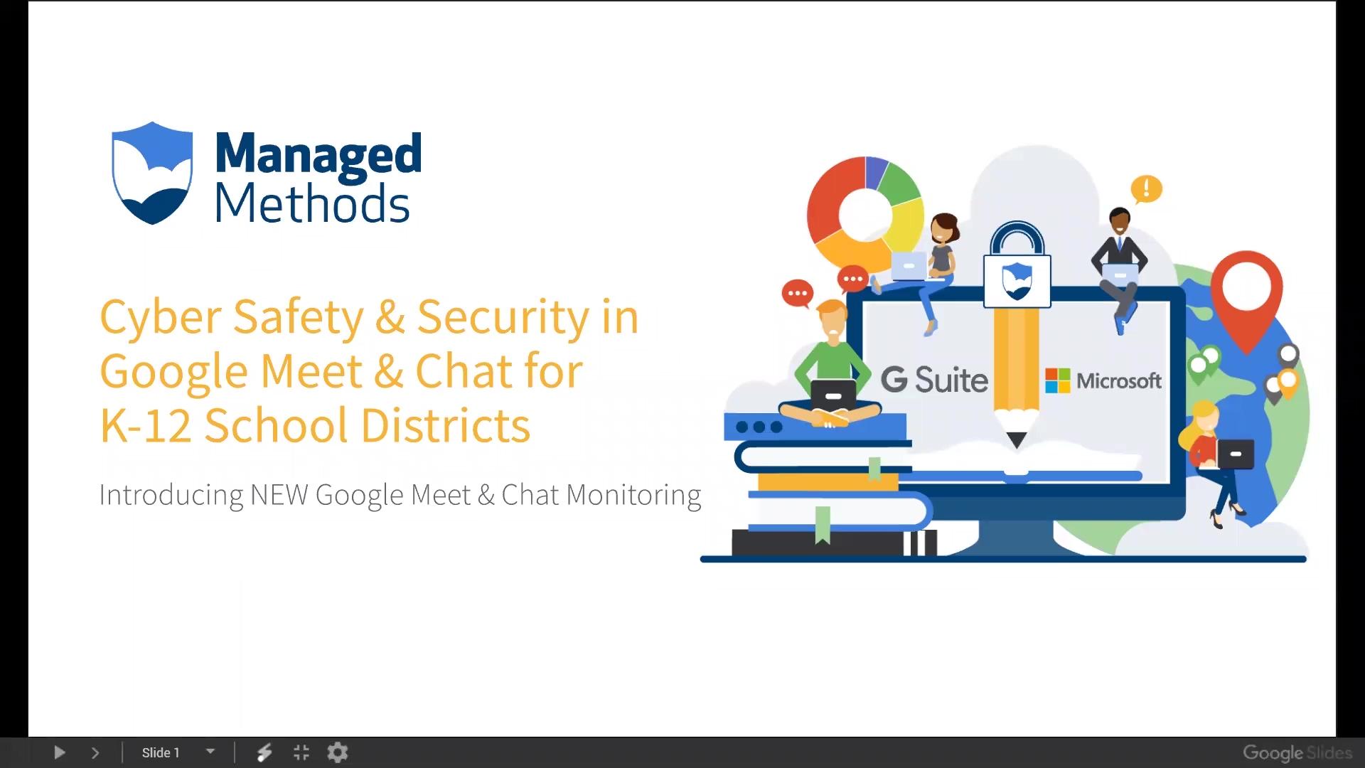 ManagedMethods Google Meet & Chat Demo Webinar Recording